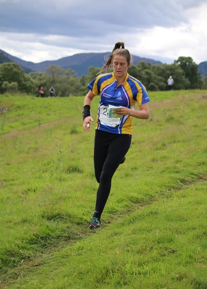 Grace Molloy, Scottish Six Days 6, Glen Feardar West (c) Wendy Carlyle