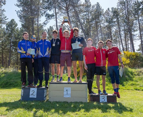 Scottish Relay Championships, Mens Open podium