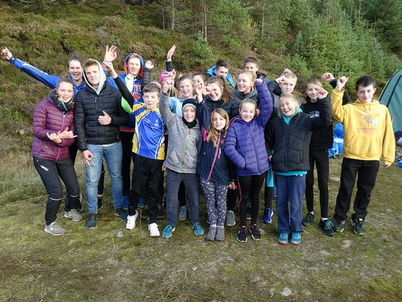 West of Scotland team at 2017 Junior Inter-Area Championships