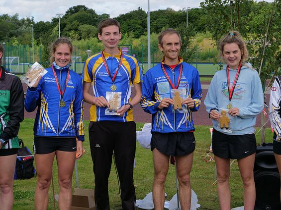 FVO British Mixed Sprint Relay Champs